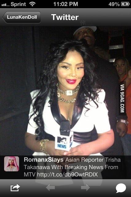 Asian reporter tricia takanawa