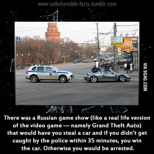 I'm seriously considering moving to Russia now