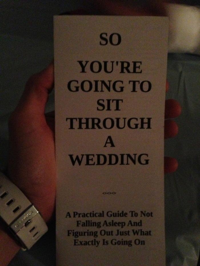 Got this at my friend's wedding.