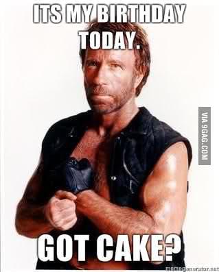 Magnificent Happy Birthday Chuck Norris 73 Years Old 9Gag Funny Birthday Cards Online Alyptdamsfinfo
