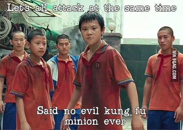 Kung fu minion