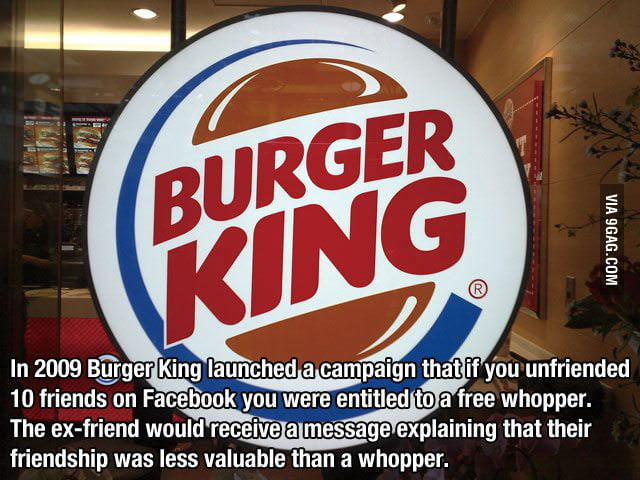 Well played, Burger King, well played