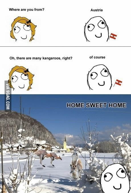 How I feel as an Austrian.