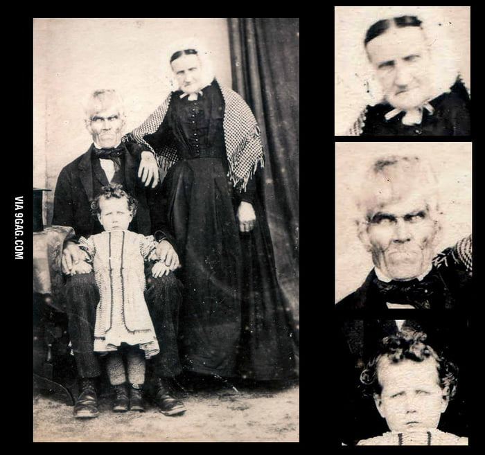 Scary Old Family Pictures