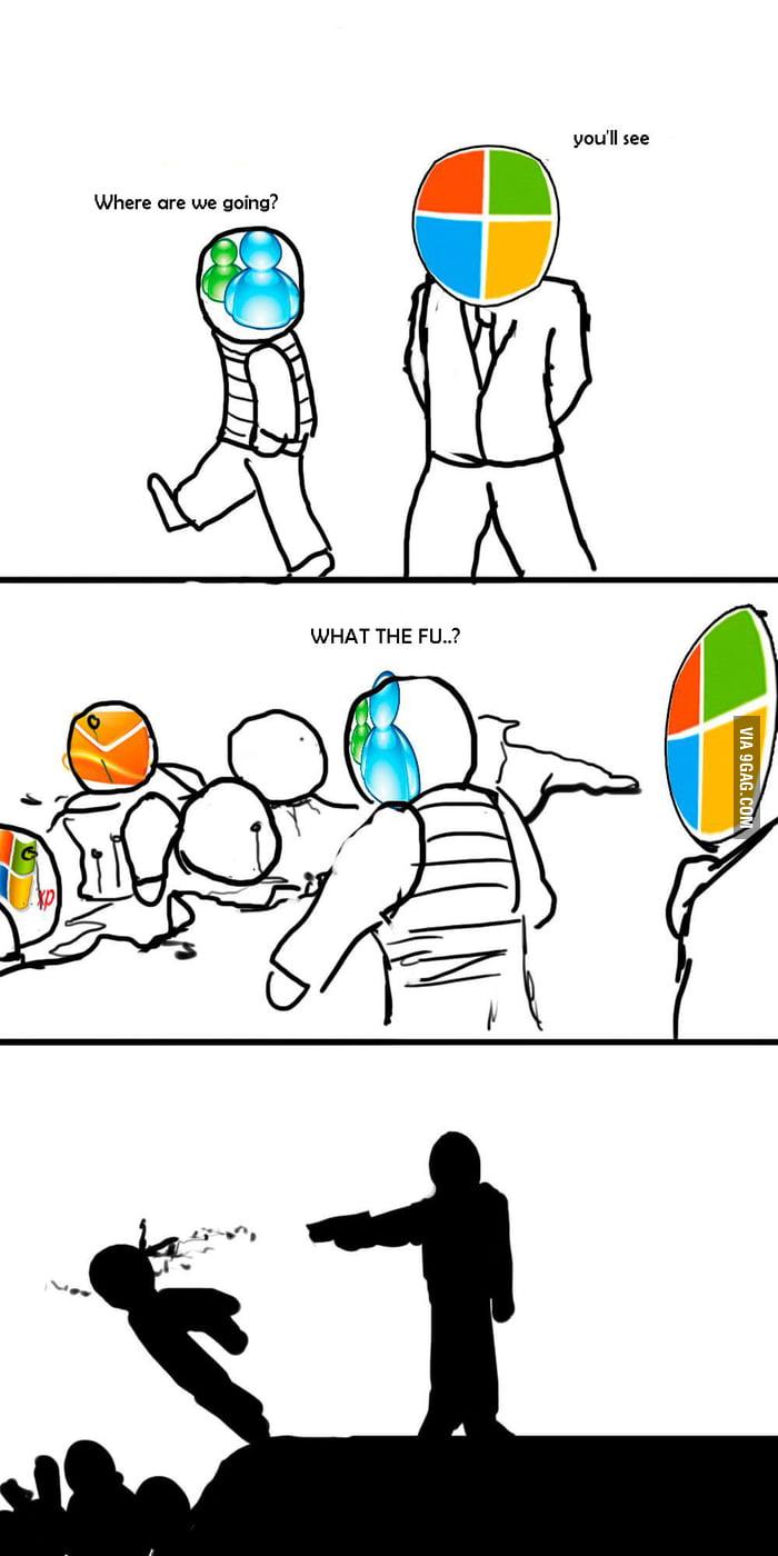 Goodbye Windows Live Messenger