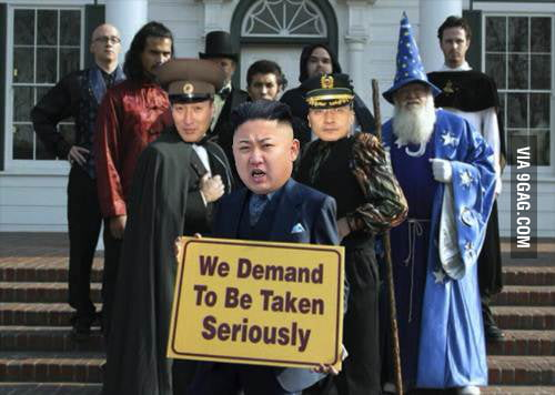 How I imagine North Korea right now