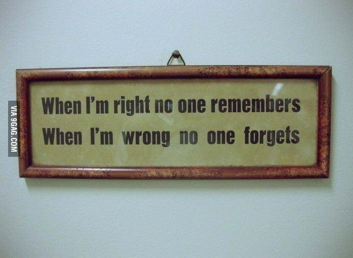 True words.