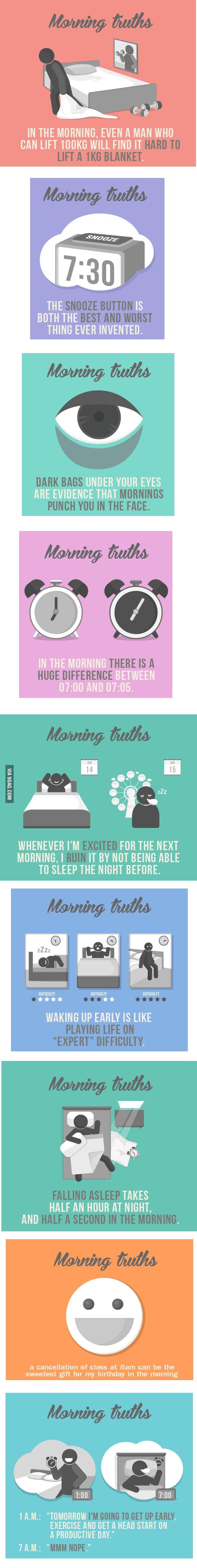 Morning truths