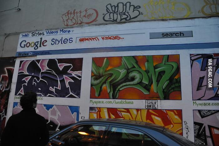 Kick-ass street art in Istanbul