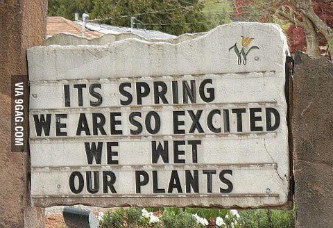 April showers?
