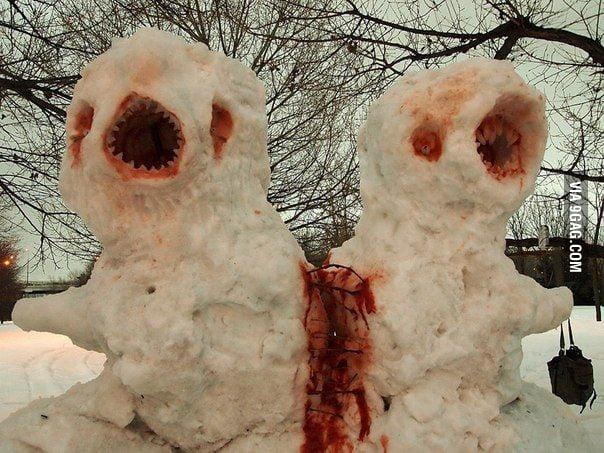 Let's build a nice snowman!