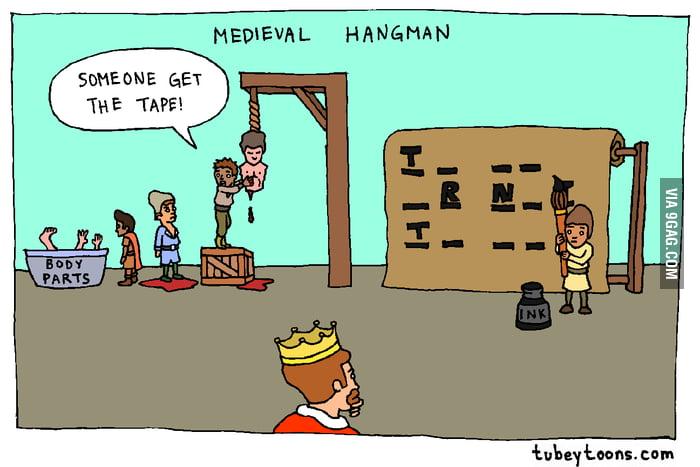 Medieval hangman
