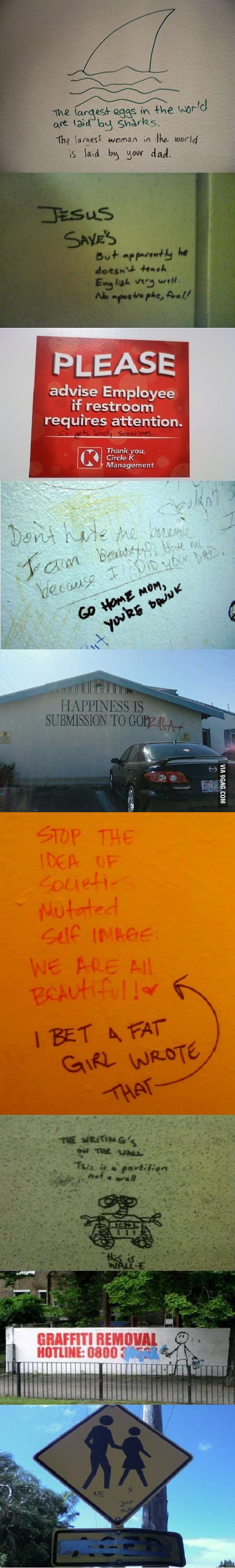 Vandalism at its finest