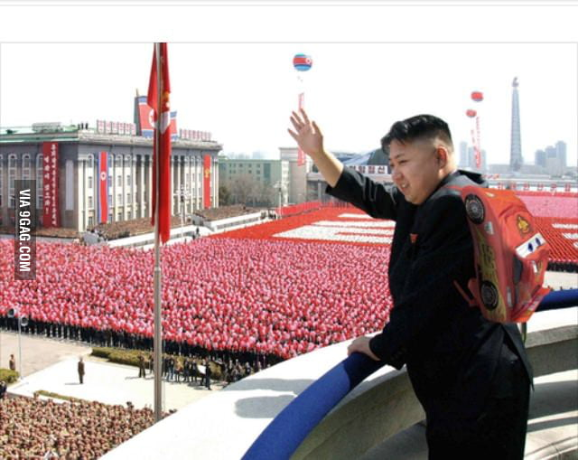 First day as dictator of North Korea. Best day EVER.