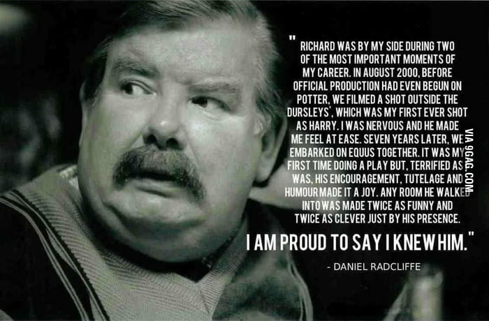 R.I.P. Richard Griffiths