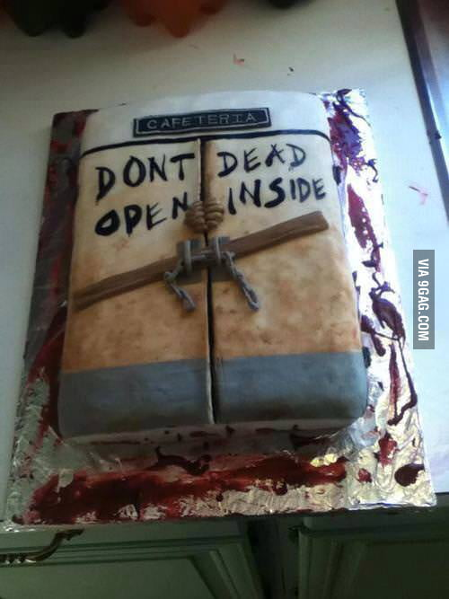 Awesome 'The Walking Dead' Cake!