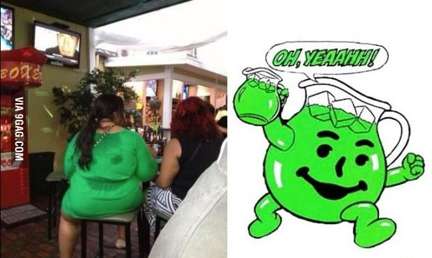 Kool Aid monster exist!