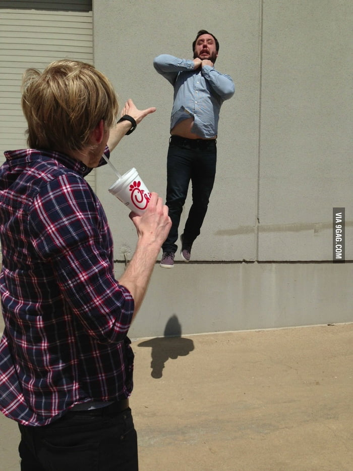 In response to HADOKEN-ing, I give you... Vadering.