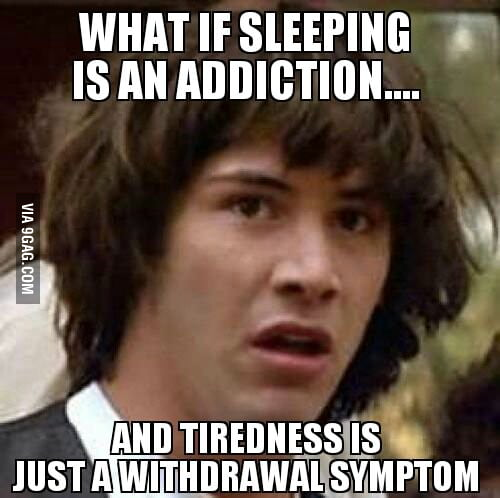 Truth about sleeping