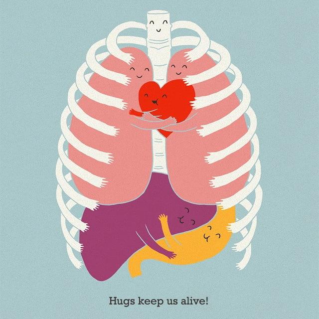 Hugs keep us alive!
