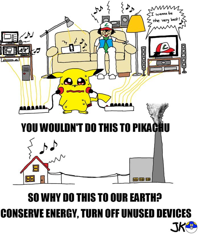 Pokemon environmentalism