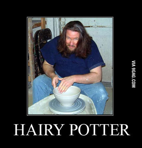 I love hairy potter!