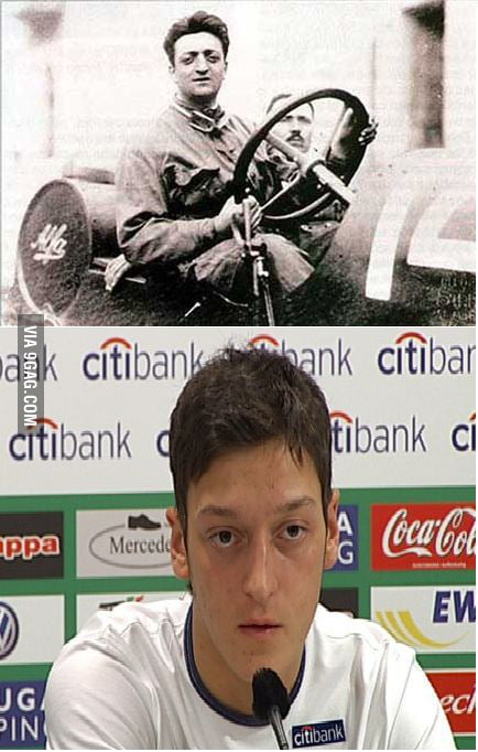 The Similarity Of Ferrari Enzo And Mesut Ozil 9gag