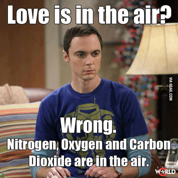 Image result for love is in the air sheldon