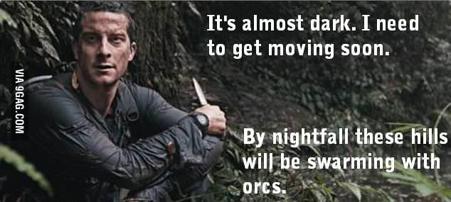 Bear Grylls in New Zealand