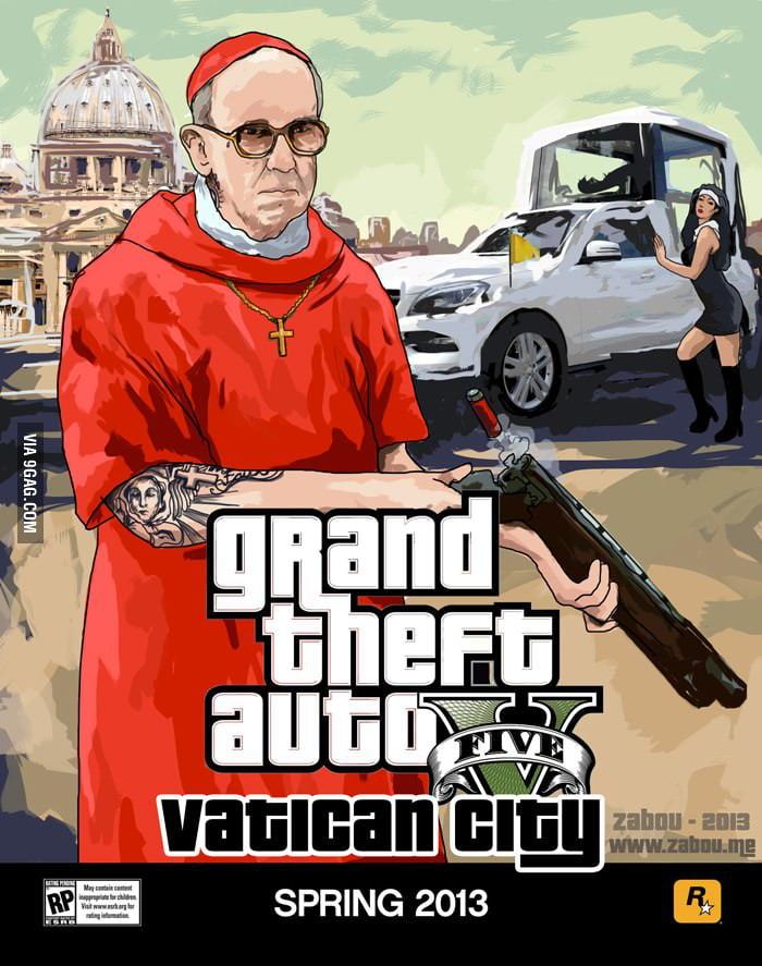 GTA V Vatican city