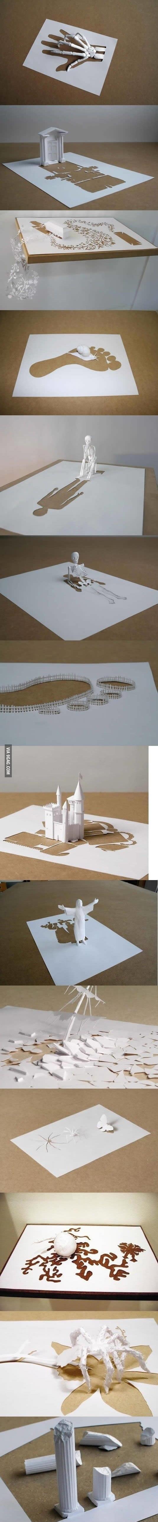 Amazing paper art!