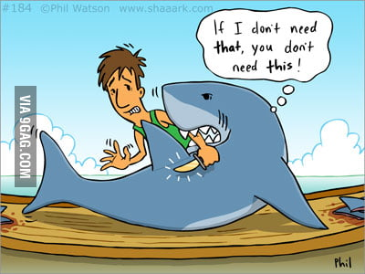 Say no to shark finning!