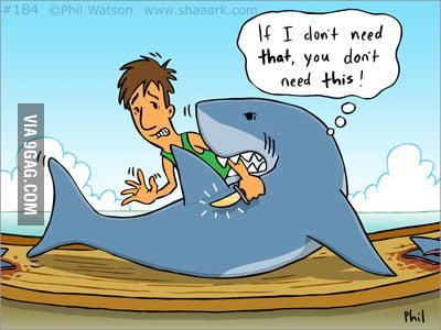 Say no to shark finning!