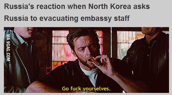 Russia's vs North Korea