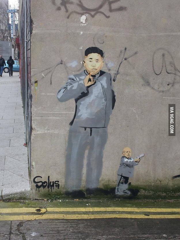 Dr. Kim Jong-Un and Mini-Me