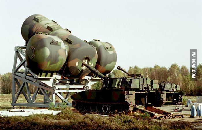 A tank with noise suppressor!