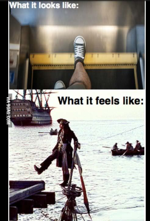 Escalators: Every time