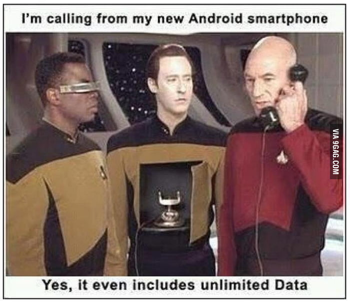 A new phone!