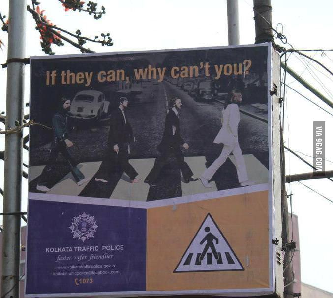 Calcutta Police doing it right!