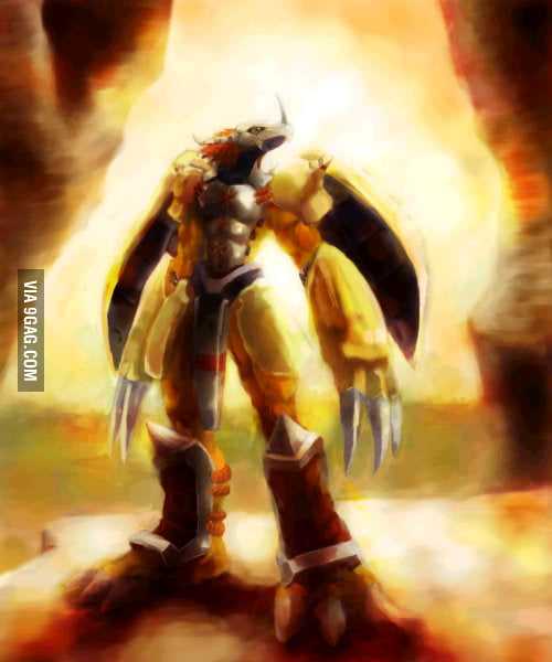Wargreymon. I'd like to see Pokemon come up with something more badass