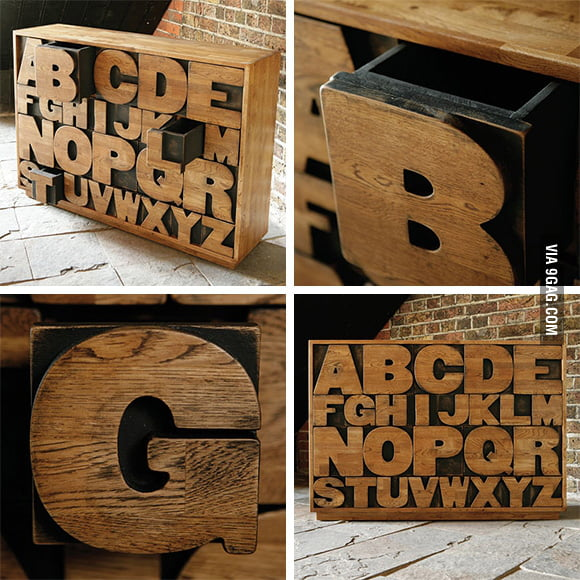 ALPHABET Drawers