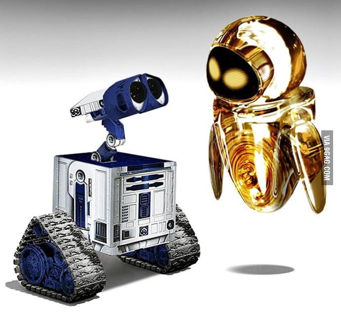 Star Wars WALL-E