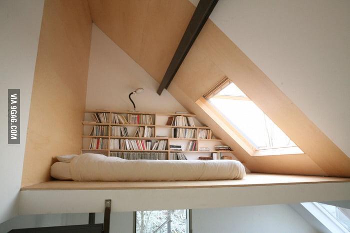 Would you sleep here?