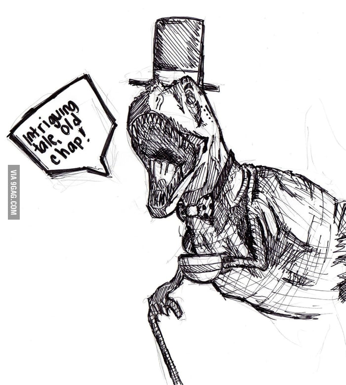I Got Bored And Decided To Draw A T Rex