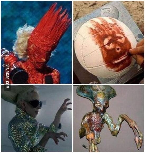 Gaga costumes