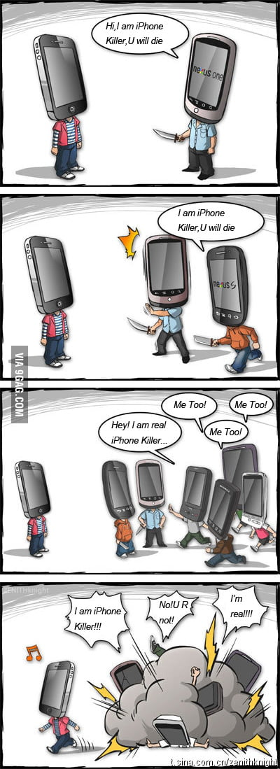 Who is the iPhone killer?
