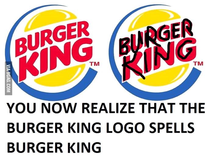 burger king logos subliminal message 9gag