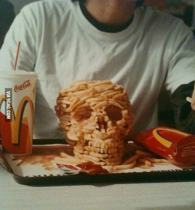 Skull fries