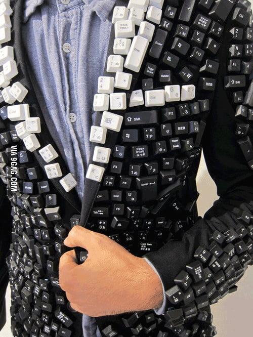 Keyboard Tuxedo