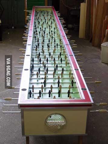 Table football, Asian level